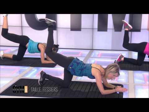 Exercice de la Taille et des Fessiers - Rencement musculaire 103