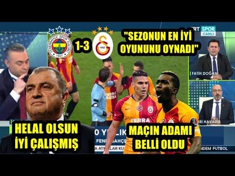 """""""Galatasaray Sezonun En İyi Maçını Oynadı"""" l Fenerbahçe 1-3 Galatasaray l GÜNDEM FUTBOL"""