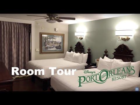 Room Tour At Disney's Port Orleans Resort French Quarter 2018  - Walt Disney World Hotel