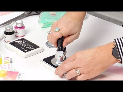 How To Use The Magnetic Date Stamp By Heidi Swapp