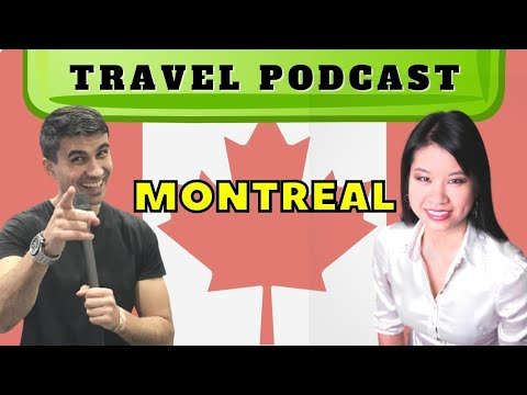 🇨🇦 PODCAST 21 Travel to Montreal ft Sydney Wong | Canada