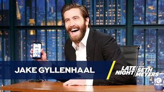 Jake Gyllenhaal and Ryan Reynolds FaceTime on Late Night