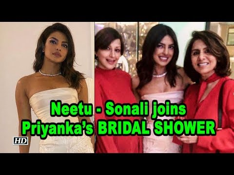 Neetu - Sonali joins Priyanka Chopra's BRIDAL SHOWER Mp3
