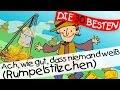 Ach wie gut, dass niemand weiß (Rumpelstilzchen) - Märchenlieder zum Mitsingen || Kinderlieder