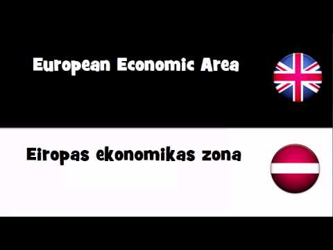 VOCABULARY IN 20 LANGUAGES = European Economic Area