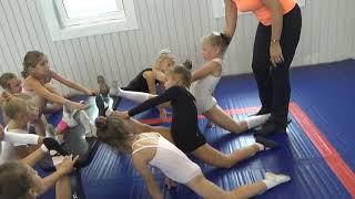 Растяжка. Шпагат. Гимнастика. Фигурное катание |Gymnastics flexibility
