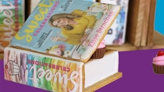 BOOK COOKIES | How to make Surprise Inside Cookie Boxes | Sweet Celebrations Cookbook LAUNCH!