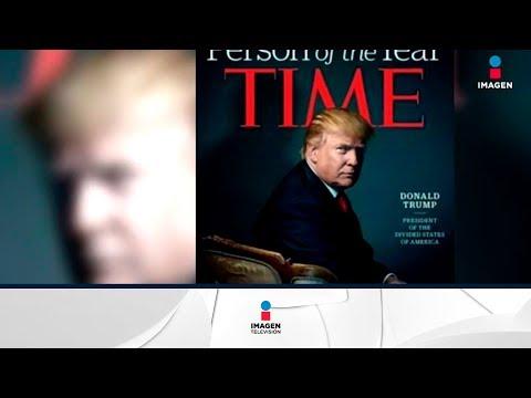 Donald Trump quiere un premio al medio más mentiroso | Noticias con Yuriria Sierra