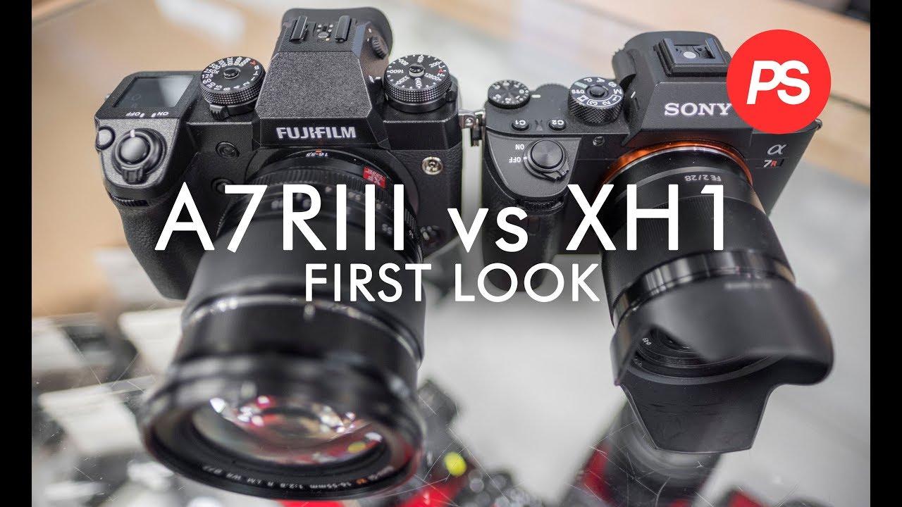 Fuji XH1 & Sony A7R3 - Side by side [IBIS, 120fps, Log, Bitrates]