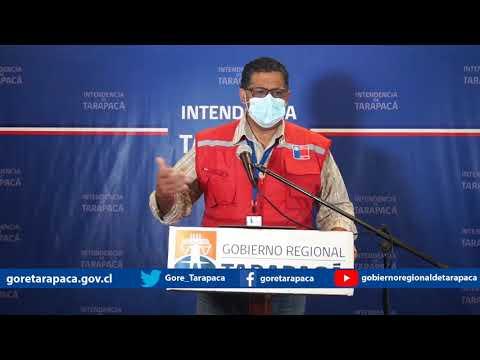 Punto de prensa 16 de agosto de 2020 - Gobierno Regional de Tarapacá