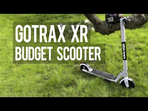 GoTrax Xr Is a Budget Electric Scooter You Won't Outgrow