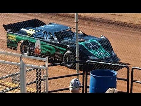 Dirt Late Model-Daniel Sonny Modaff-Hot Laps @ Sunset Speedway