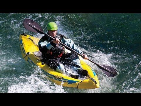 AE1050-Y Attack Whitewater Kayak Setup Video