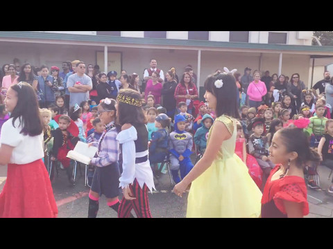 Potrero heights elementary school' s Halloween