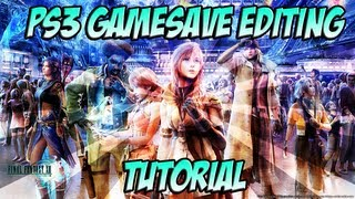 Final Fantasy XIII / Save Data Modding Tutorial for PS3