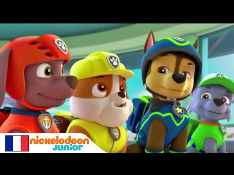 paw patrol la pat 39 patrouille des v nements myst rieux nickelodeon junior youtube. Black Bedroom Furniture Sets. Home Design Ideas