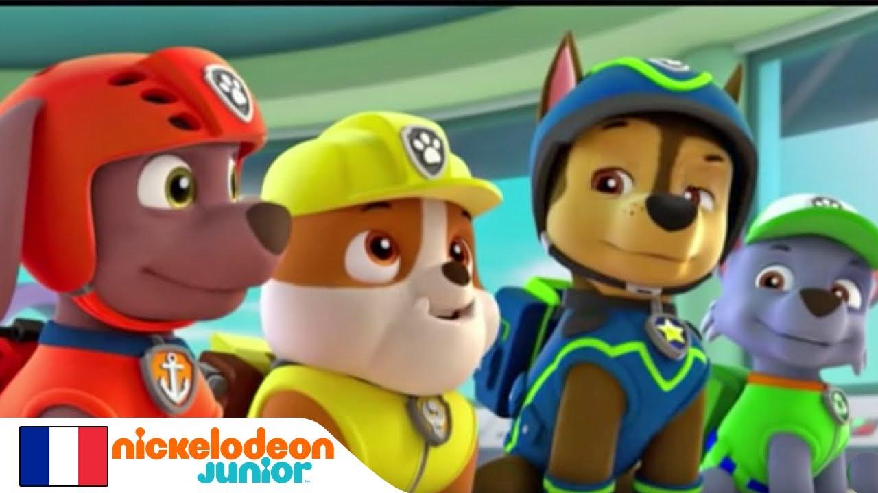 Paw Patrol La Pat Patrouille Le Vol De Poissons Du Capitaine Turbot Nickelodeon Junior Youtube