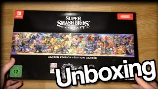 Super Smash Bros Ultimate Limited Edition - Gyors Unboxing, fölösleges beszéd nélkül
