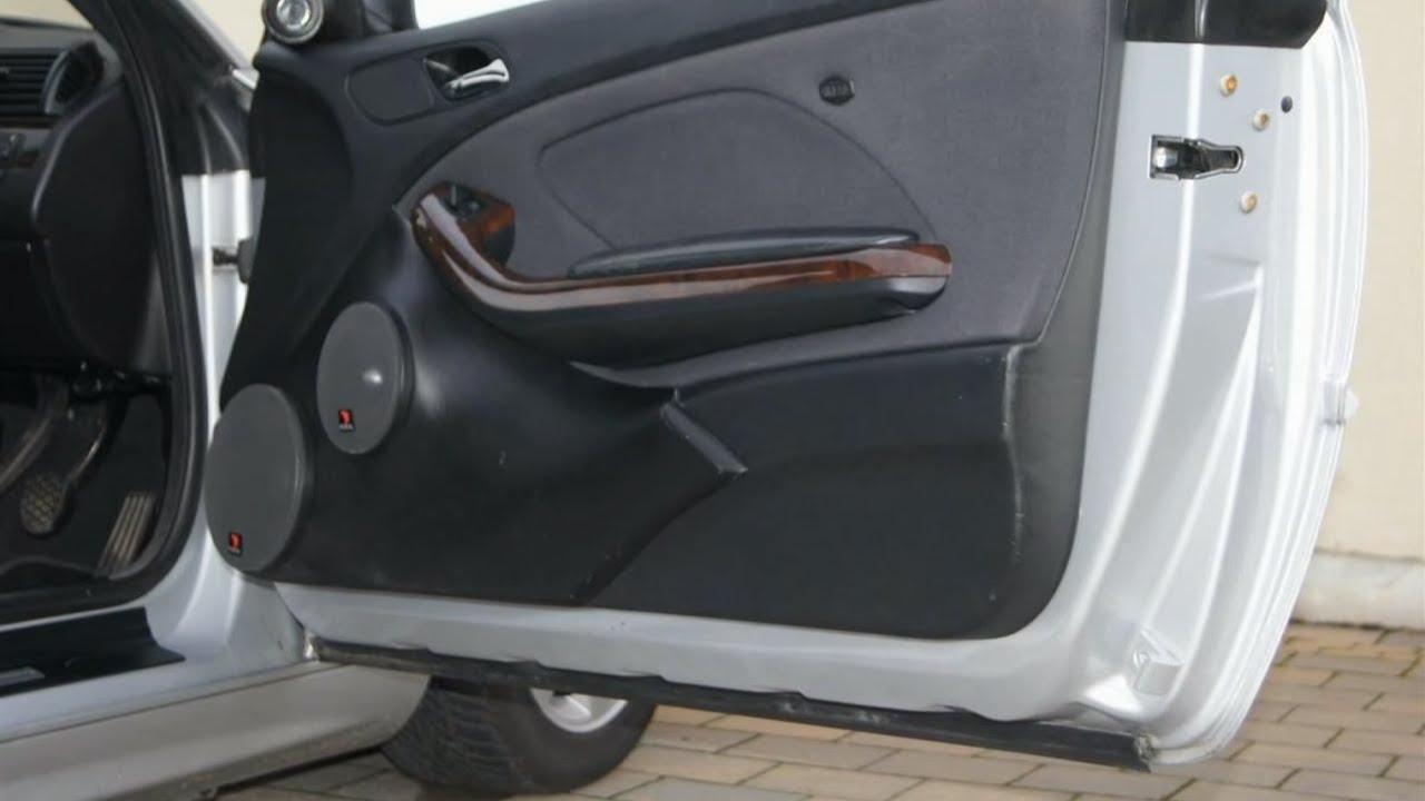 BMW e46 front door speaker upgrade & BMW e46 front door speaker upgrade - YouTube