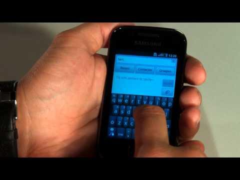 Samsung Galaxy Gio - Demo [Dutch]