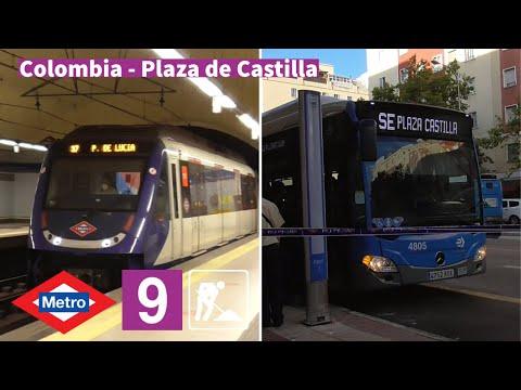 Obras en Colombia - Plaza de Castilla L9 | Efectos de Obras