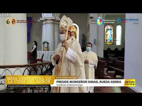 Informativo Arquidiocesano - Misa Vespertina de la Cena del Señor