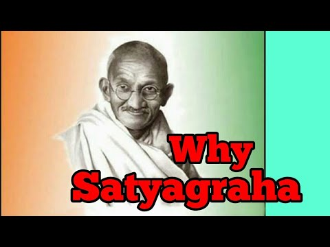 Importance of Satyagraha Movement by Gandhiji