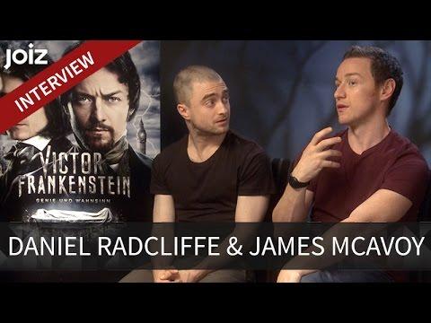"""Daniel Radcliffe & James McAvoy im exklusiven Interview zu """"Victor Frankenstein"""""""