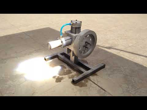 Solar Stirling Engine   GTU Mechanical Project