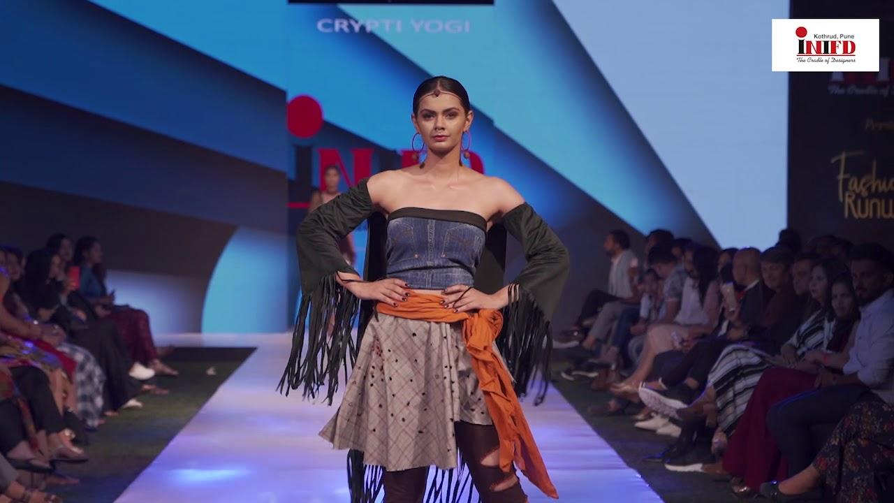 Crpyti Yogi Inifd Pune Kothrud Fashion Show 2019 Youtube