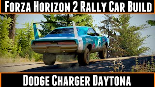 Forza Horizon 2 rally car build Dodge Charger Daytona