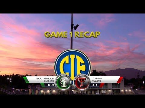 2018 CIF Game 1 Recap - Tustin vs SHHS