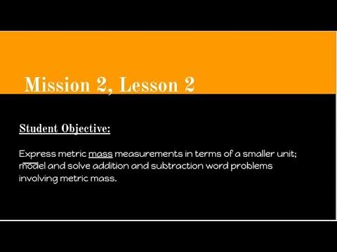 Mission 2, Lesson 2 Math Video - Carlinville Intermediate School