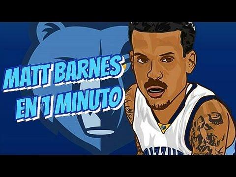 BLOOPERS NBA - MATT BARNES EN 1 MINUTO