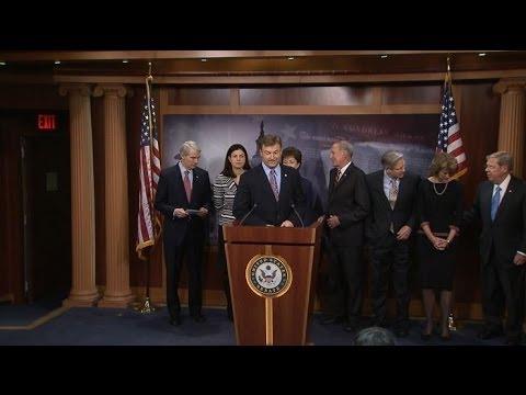 GOP Senators Hold Unemployment Insurance Extension Press Conference