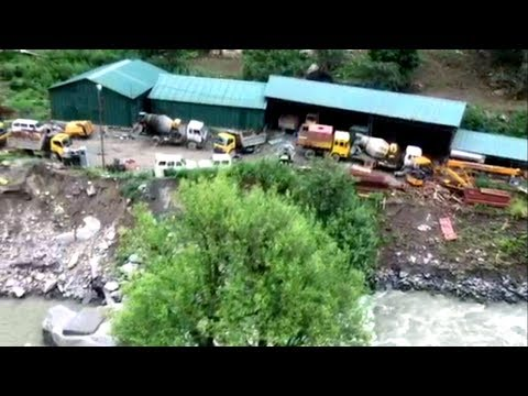 48 MW Lower Kalnai Hydroelectric project site hit by floods in Doda