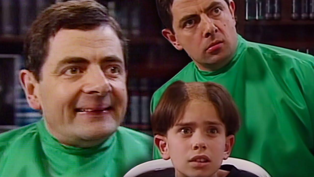 مستر بين الحقيقي الحلقه 2 الحلاق Mr Bean