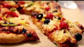 Mozzarella Cheese And Vegetable Pizza| Appetizing Snack Recipe | Kiddie