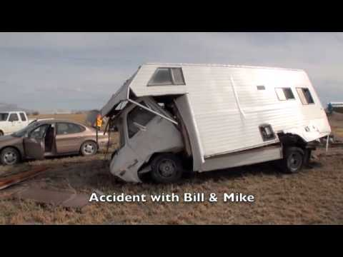 Accident involving Bill Lowery and Mike Horner