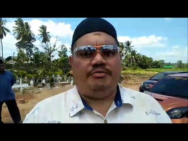Belangsungkawa Paksu Man : Ucapan Sazali Shamsuddin, YDP PSSCMCJDT