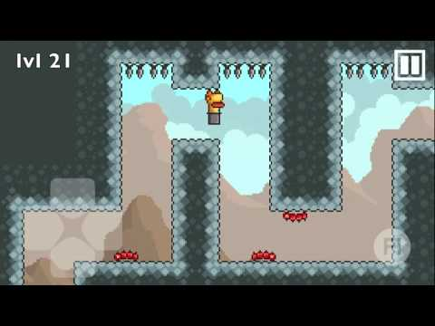 "Gravity Duck ""The Mountain"" Walkthrough: Chapter 3 - Levels 1 through 36"