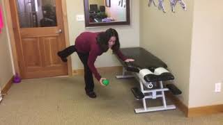 Golfer's Lift Technique Demonstration for Low Back Injury Prevention | Pro Physio