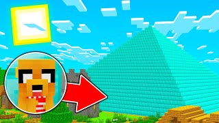 LA PIRAMIDE DE DIAMANTE EN MINECRAFT 😍 MINECRAFT ROLEPLAY