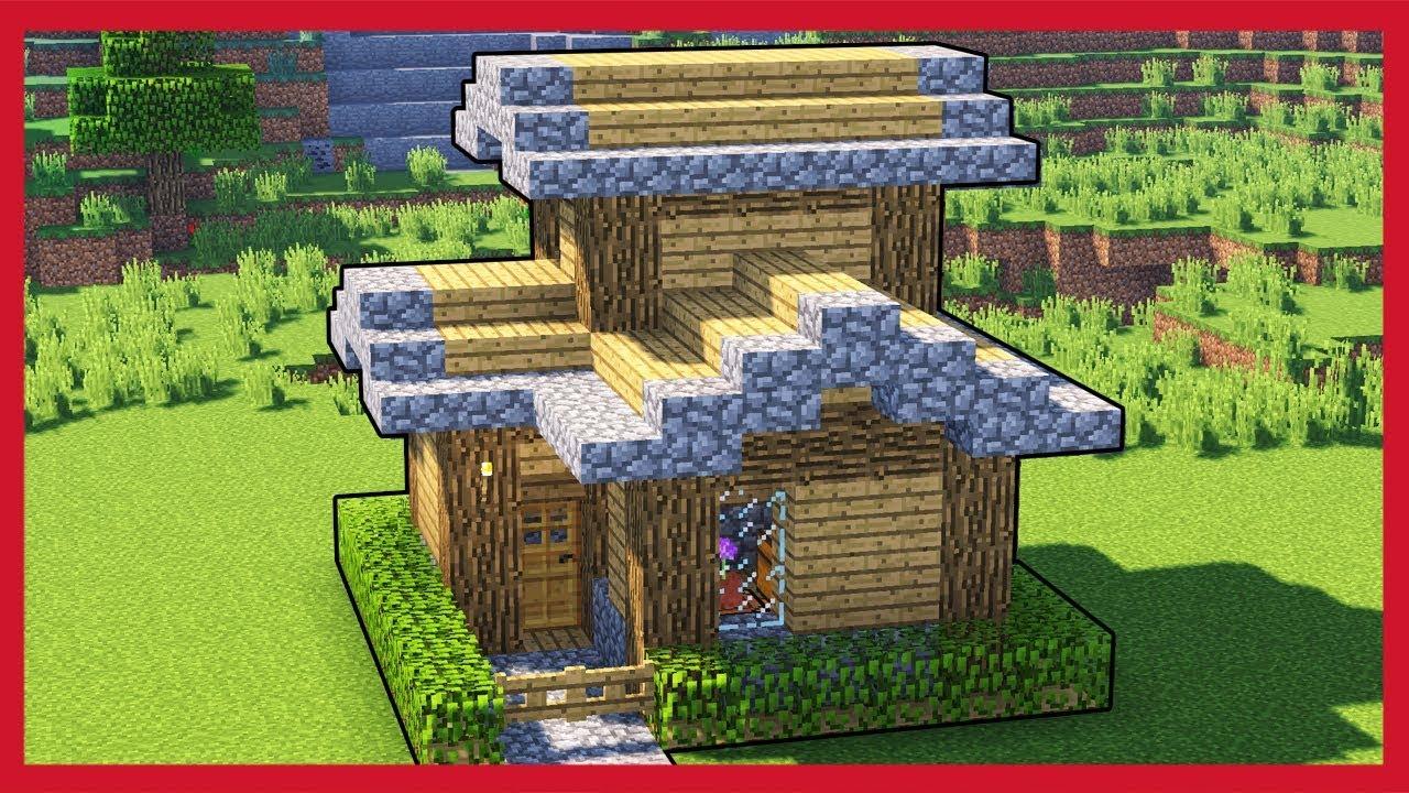 Minecraft come fare una casa della foresta youtube for Creare una piantina della casa