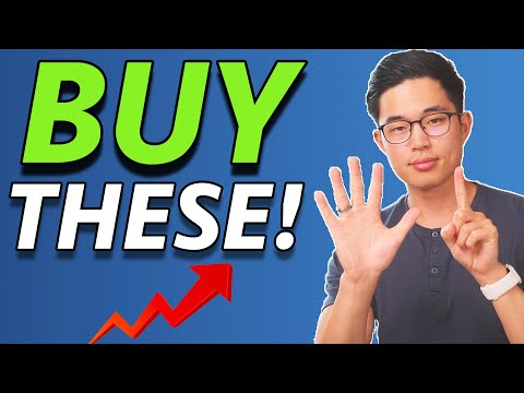 The 6 TOP Stocks To Buy in June 2021 (High Growth)