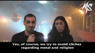 Arkan Interview @ Paris (Bataclan - 03/04/2011)