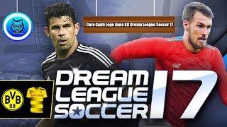 Cara Mengganti LOGO dan KIT Dream League Soccer 17 #silviartutorial