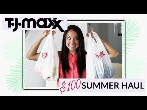 $100 Shopping Budget at TJMaxx