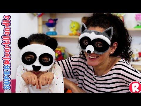 Quien soy!? Máscaras y caretas con Andrea y Raquel en SUPERDivertilandia.