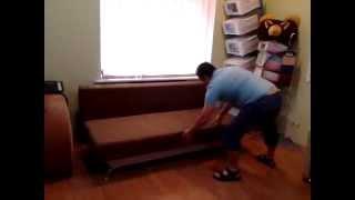 видео Когда нужна замена, а когда ремонт механизмов диванов
